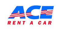 Car rental at the rental company Ace Rent a Car