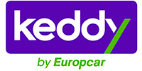 Car rental at the rental company Keddy Rent a Car