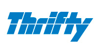 Car hire at the hire company Thrifty Rent a Car